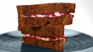 Carla Hall\'s Gingerbread Sandwiches