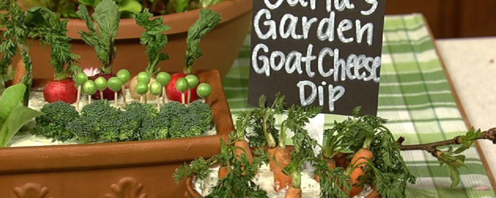 Carla Hall\'s Goat Cheese Dip
