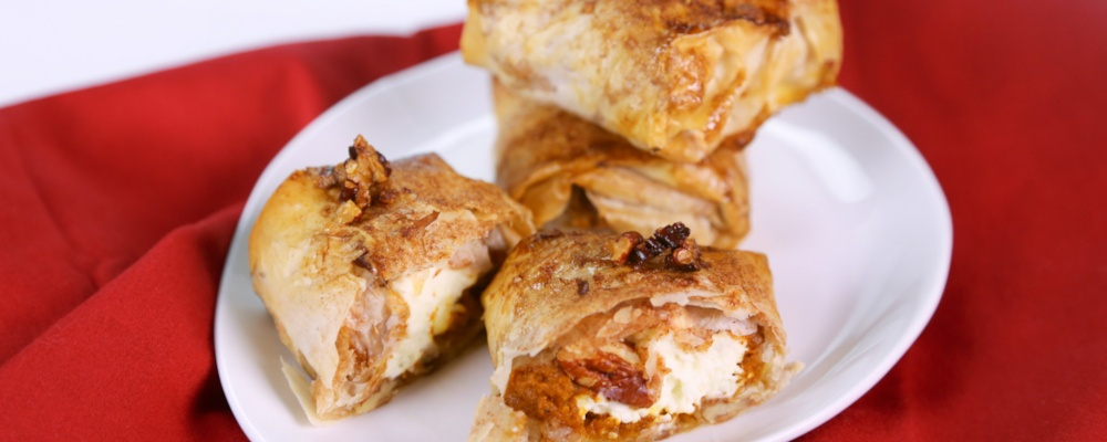 "Carla Hall\'s ""It\'s The Great Pumpkin (Strudel) Charlie Brown"""