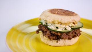 Carla Hall\'s Lamb Burgers