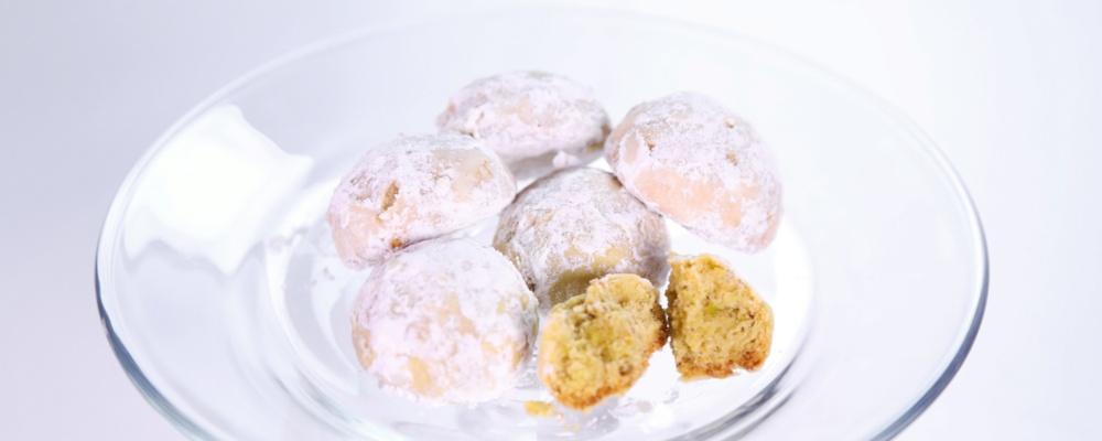 Carla Hall\'s Lemon Cardamom Wedding Cookies
