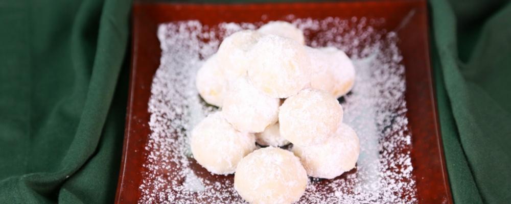 Carla Hall\'s Marcona Wedding Cookies