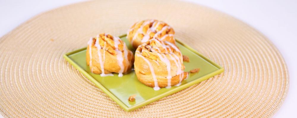 Carla Hall\'s Pumpkin Pie Pinwheels