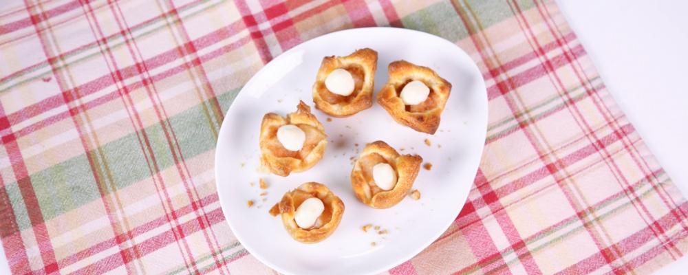 Carla Hall\'s Spiced Pear Tartlets