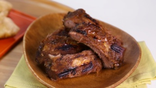 Carla Hall\'s Sticky Pork Ribs