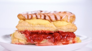 Carla Hall\'s Strawberry Napoleon