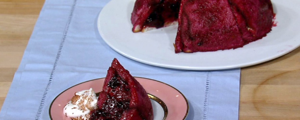 Carla Hall\'s Summer Berry Pudding