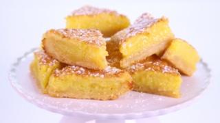 Carla Hall\'s Triple Lemon Bars