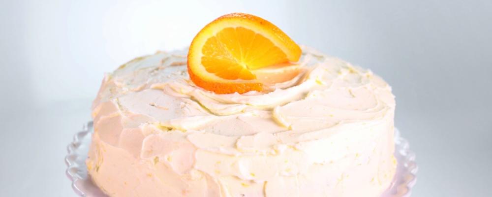 Carla Hall\'s Triple Orange Cake