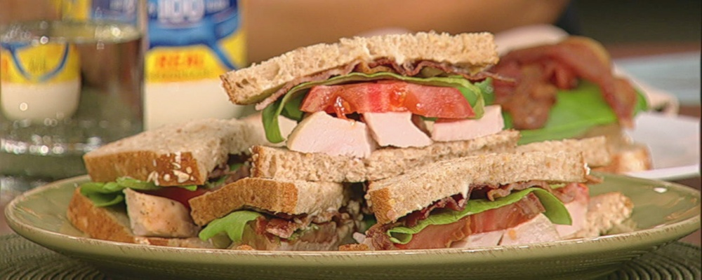 Carla Hall\'s Turkey Club