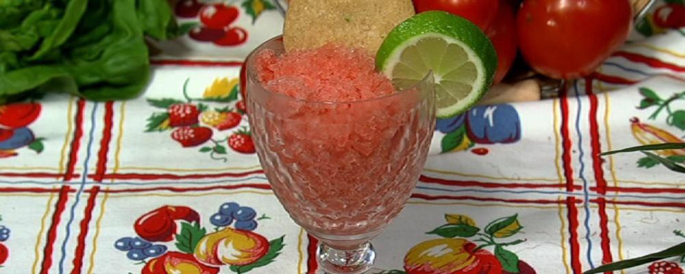 Carla Hall\'s Watermelon Granita
