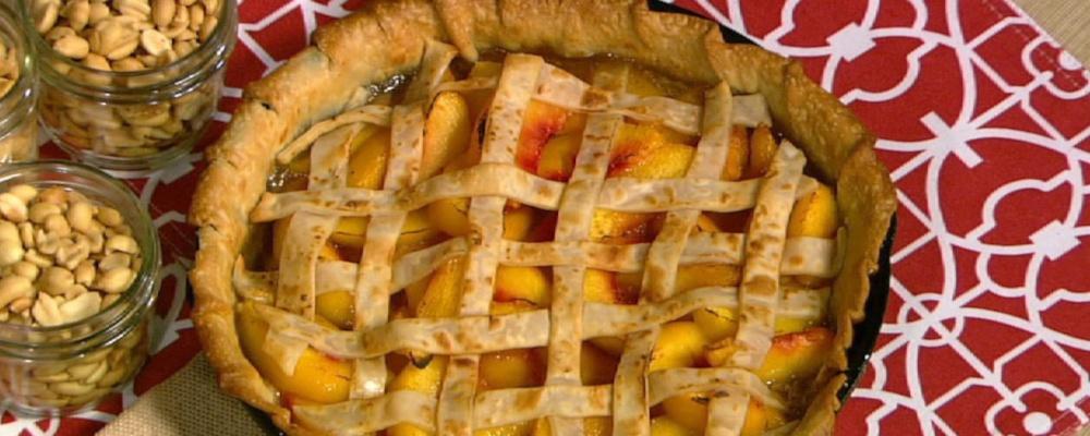 Cast Iron Peach Pie