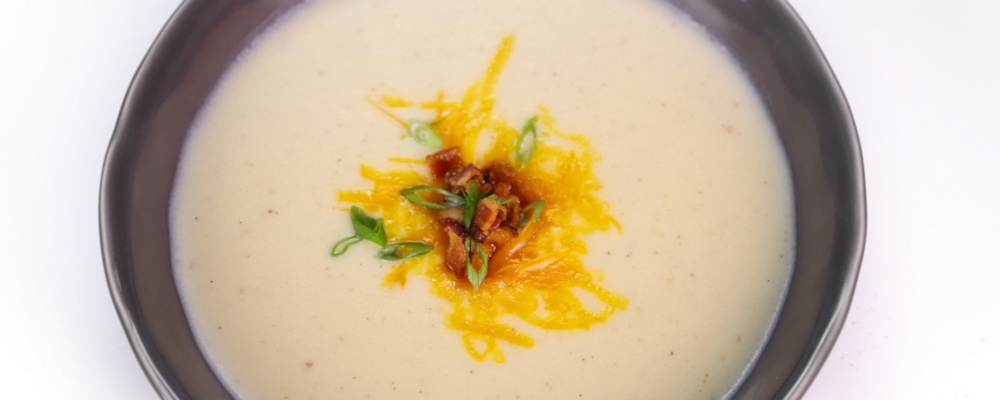 Cheesy Potato Soup Recipe by Michael Symon - The Chew