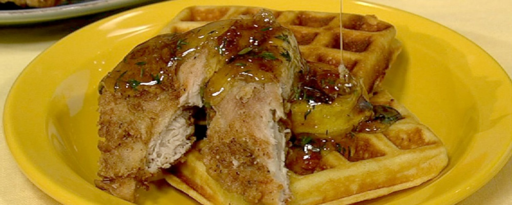 Chicken and Waffles Recipe by Carla Hall - The Chew