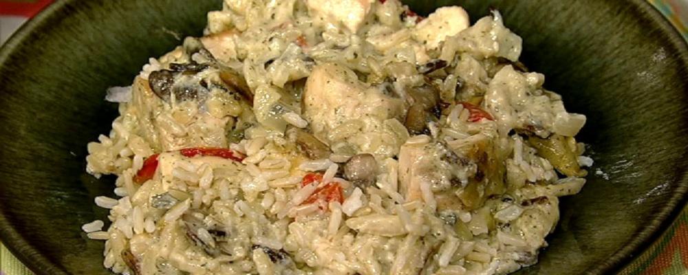 Chicken and Wild Rice Casserole Recipe by Trisha Yearwood - The Chew