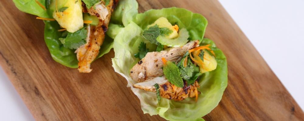 Chicken Lettuce Cups Recipe by Chrissy Teigen - The Chew