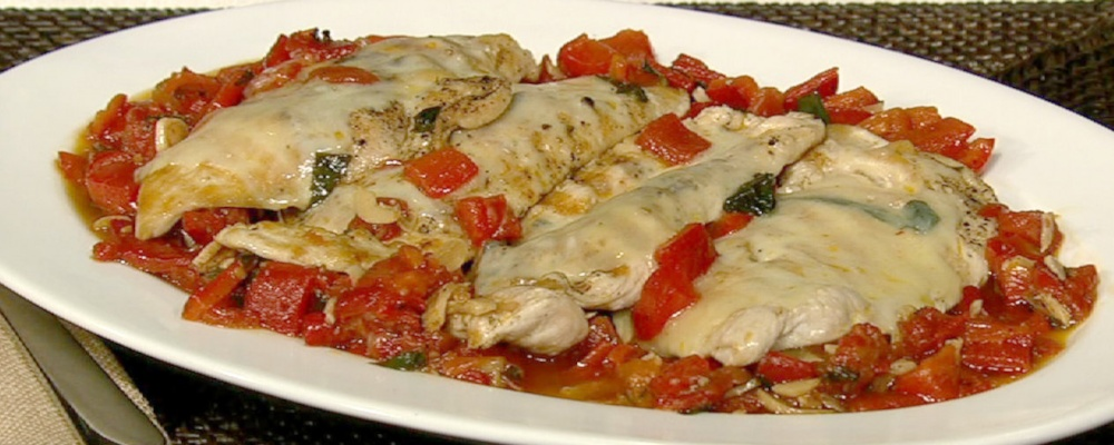 Chicken Trombino Recipe by Ralph's Italian Restaurant - The Chew