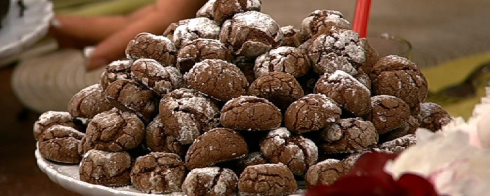 Chocolate Crinkle Cookies Recipe by Carla Hall - The Chew