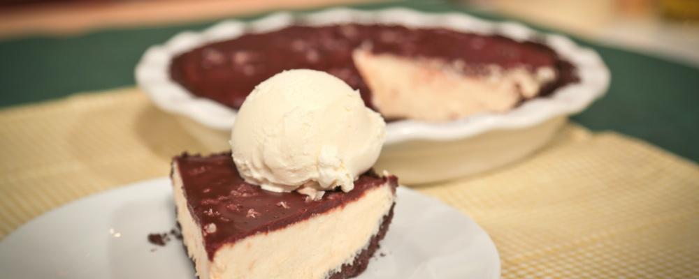Chocolate Peanut Butter Pie Recipe by Carla Hall - The Chew
