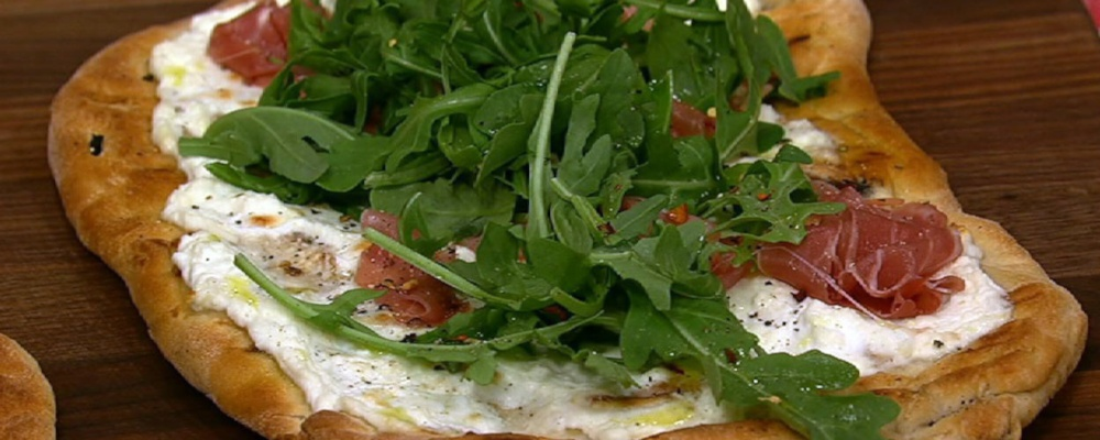 Clinton and Carla\'s Grilled Pizza