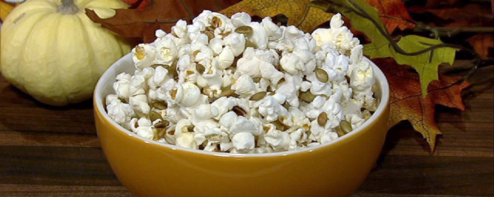 Clinton Kelly Toasted Pumpkin Seed Popcorn