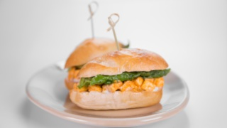 Clinton Kelly\'s Buffalo Chicken Sammies