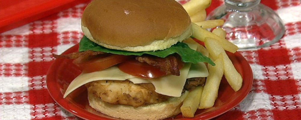 Clinton Kelly\'s Chicken Club Sandwich