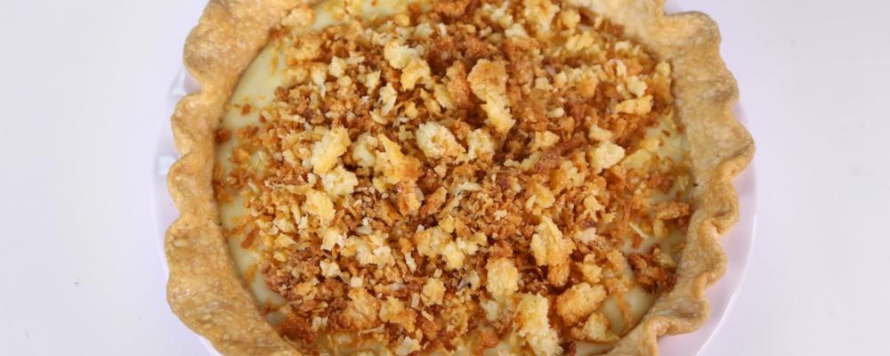 Clinton Kelly\'s Coconut Cream Pie