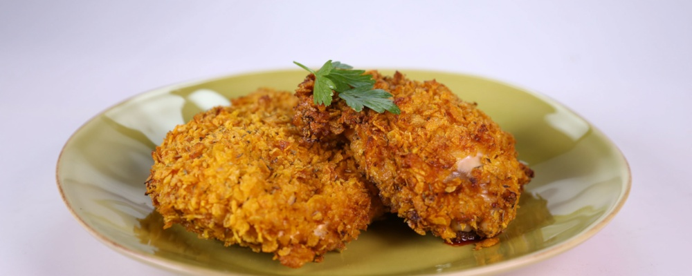 Clinton Kelly\'s Oven-Fried Chicken