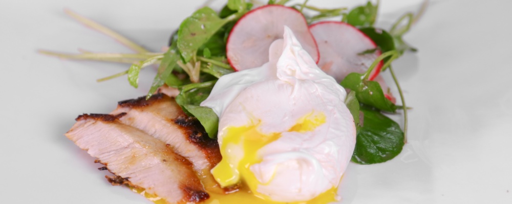 Clinton Kelly\'s Pork Cutlet with Watercress Salad