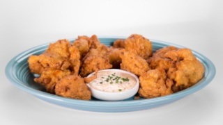 Clinton Kelly\'s Shrimp Fritters