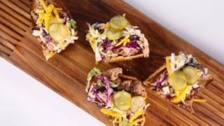 Clinton Kelly\'s Slow Cooker Pork Picnic Sandwiches