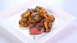 Clinton Kelly\'s Steak and Shrimp Duo
