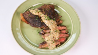 Clinton Kelly\'s Steak Au Poivre