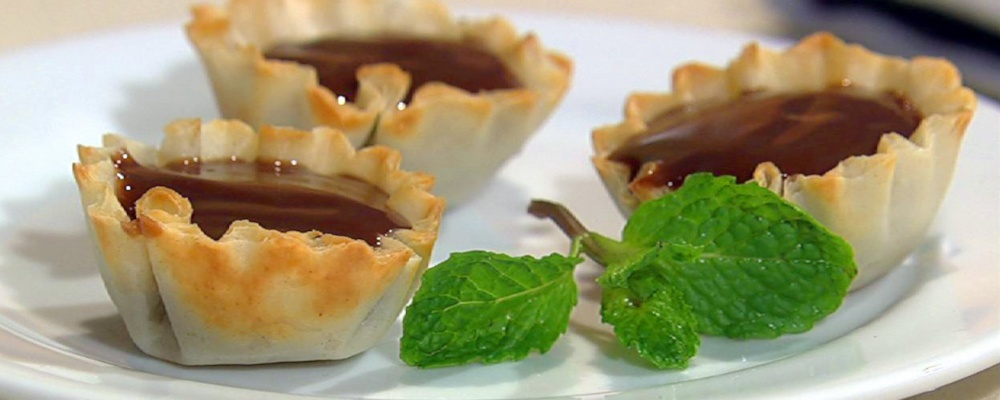 Cooking Light\'s Chocolate Espresso Tartlets