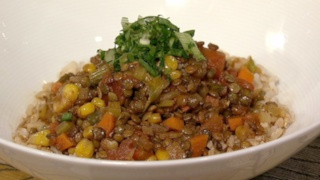 Corn Lentil Chili