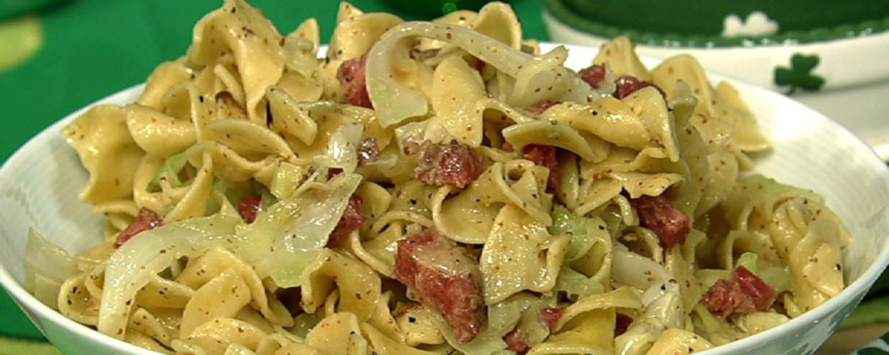 Corned Beef and Noodles with Cabbage
