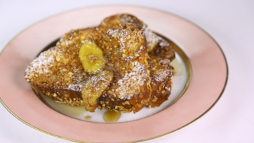Cornflake Crusted French Toast