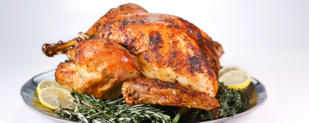 Curtis Stone's Roasted Turkey with Thyme, Rosemary, Fennel, and Lemon ...
