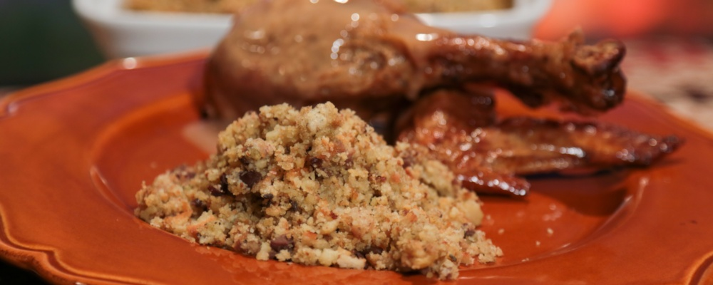 Daisy\'s Thanksgiving Cornbread Stuffing