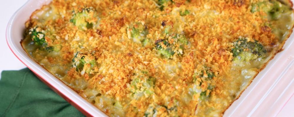 Daphne Oz's Broccoli and Orzo Casserole Recipe by Daphne Oz - The Chew