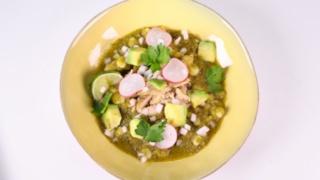 Daphne Oz\'s Chicken Pozole Verde