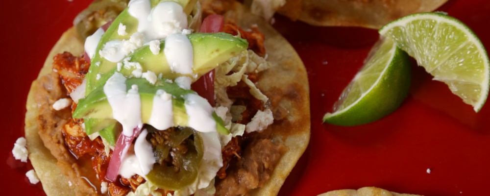 Daphne Oz\'s Chicken Tostadas