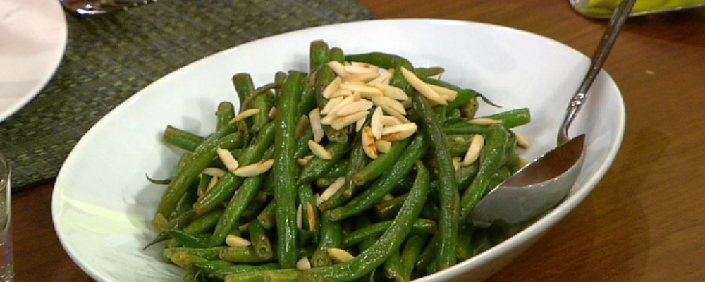 Daphne Oz\'s Green Beans with Almonds