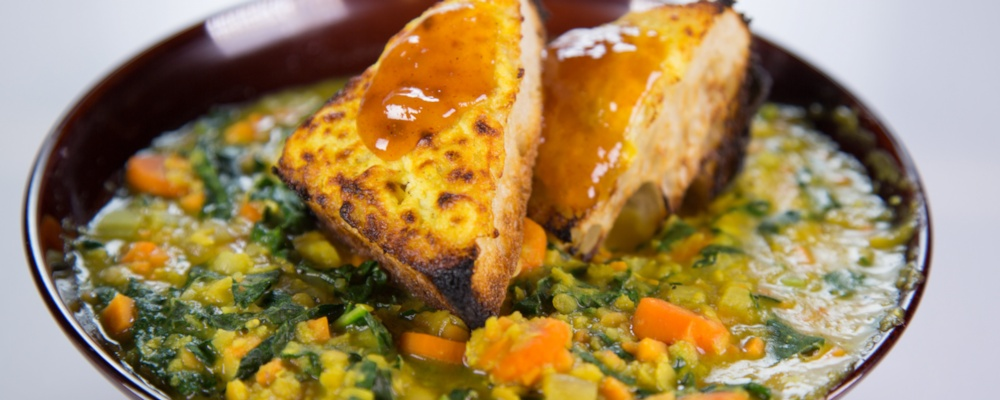 Red Lentil and Sweet Potato Stew Recipe by Daphne Oz and Mario Batali ...