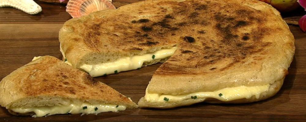 Daphne Oz\'s Robiola Pizza with White Truffle Oil