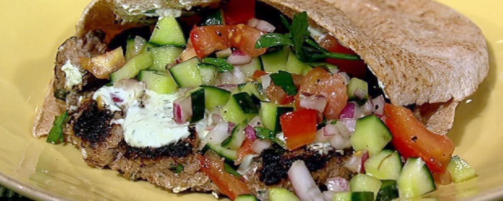 Daphne Oz\'s Turkish Burger