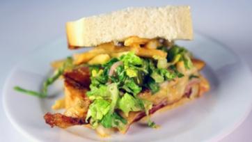Drive Thru Challenge Chicken Sandwich