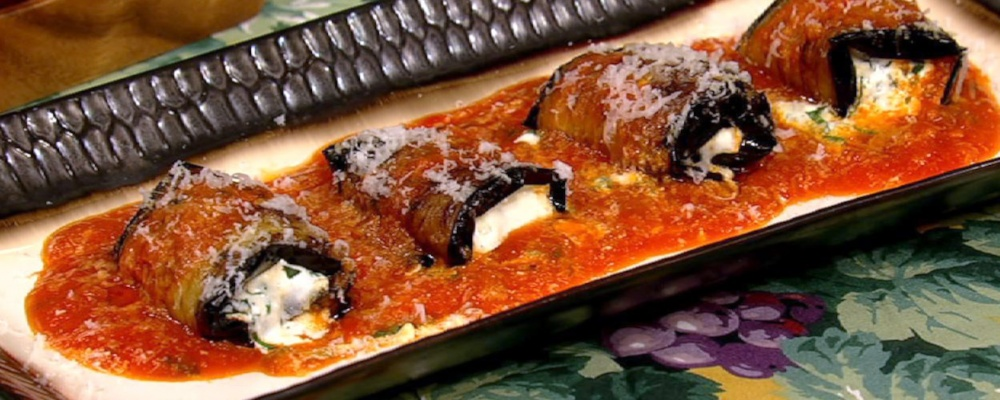 Eggplant Rollatini Recipe by Clinton Kelly - The Chew