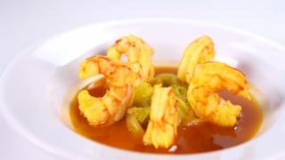 Eric Ripert\'s Shrimp Bouillabaisse